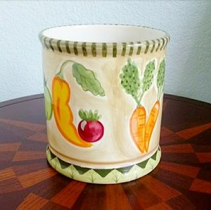 Ceramic Glazed Decorative Container